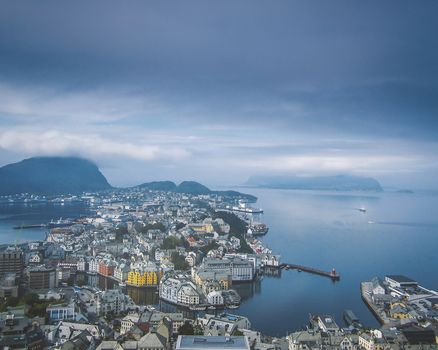 Alesund, Norway, city