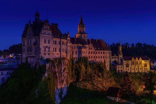 Siegmaringen Castle, Sigmaringen Castle, Germany, Sigmaringen city