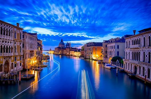 Venetia, Venice, Italy, Grand-channel