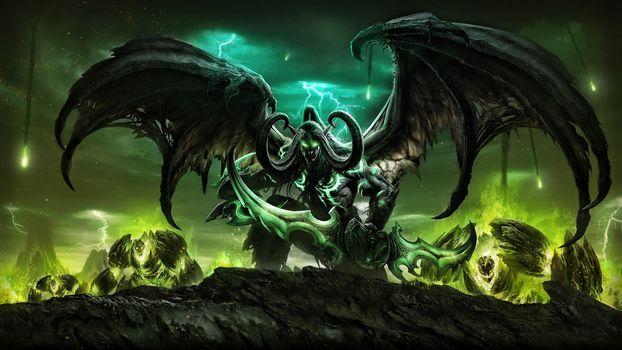 daemon, devil, Fiction, fantasy, phantasmagoria