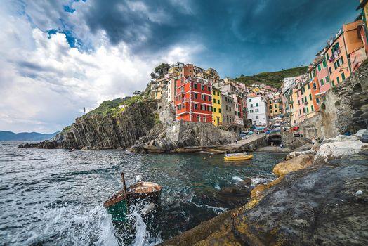 Риомаджоре, Cinque Terre, Италия, Риомаджоре, Cinque Terre, Италия