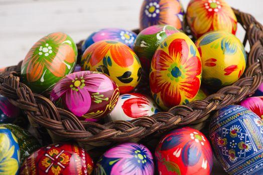 Расписные яйца (5К-6К, 12 шт)