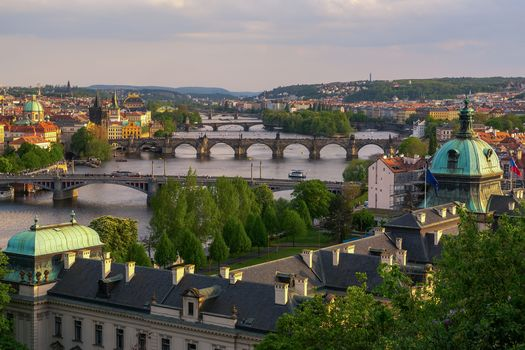Prague, Czech Republic, Prague, Czech Republic.Karlov Most, River Vltava, city, at home, bridges