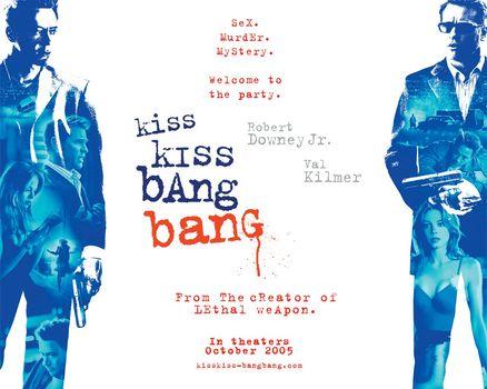 Поцелуй навылет, Kiss Kiss Bang Bang, фильм, кино
