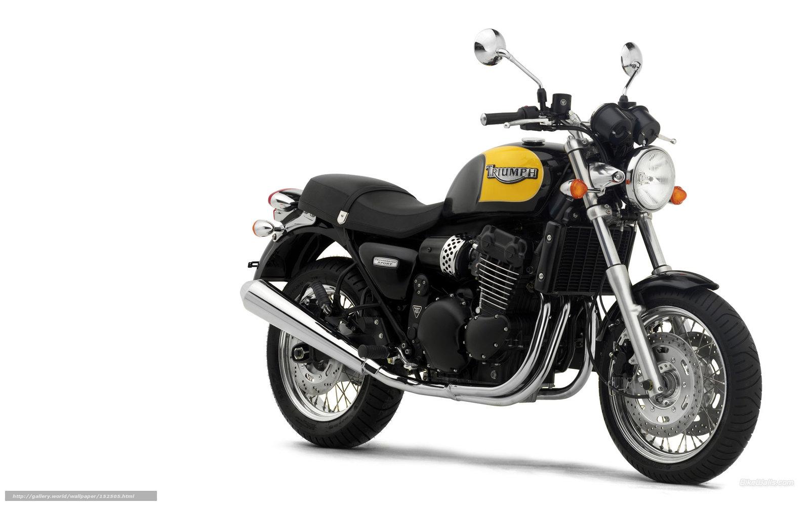Обои Thunderbird, Triumph, bike. Мотоциклы foto 15
