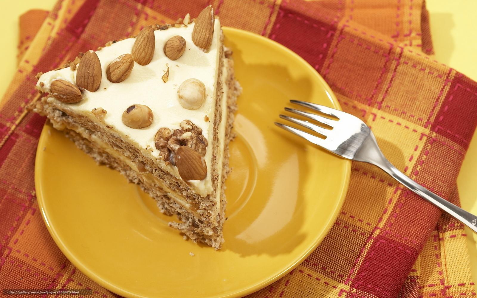 Обои пирожное, орехи, шоколад, крем. Еда foto 16