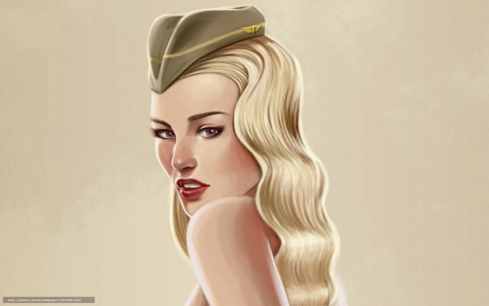 Прикольные картинки блондинистыми девочками