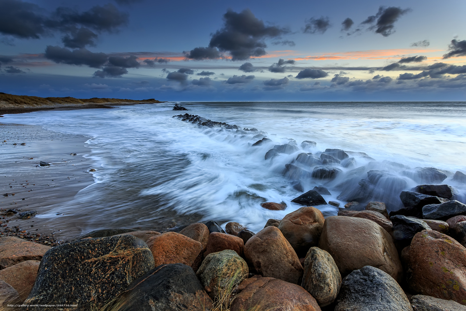 водители картинка морские камушки и волны самокате