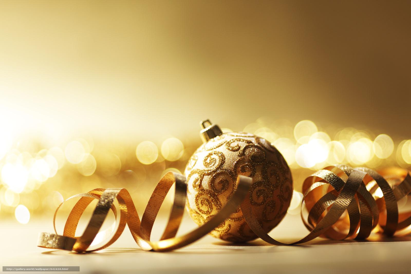 Днем, золотая открытка с новым годом