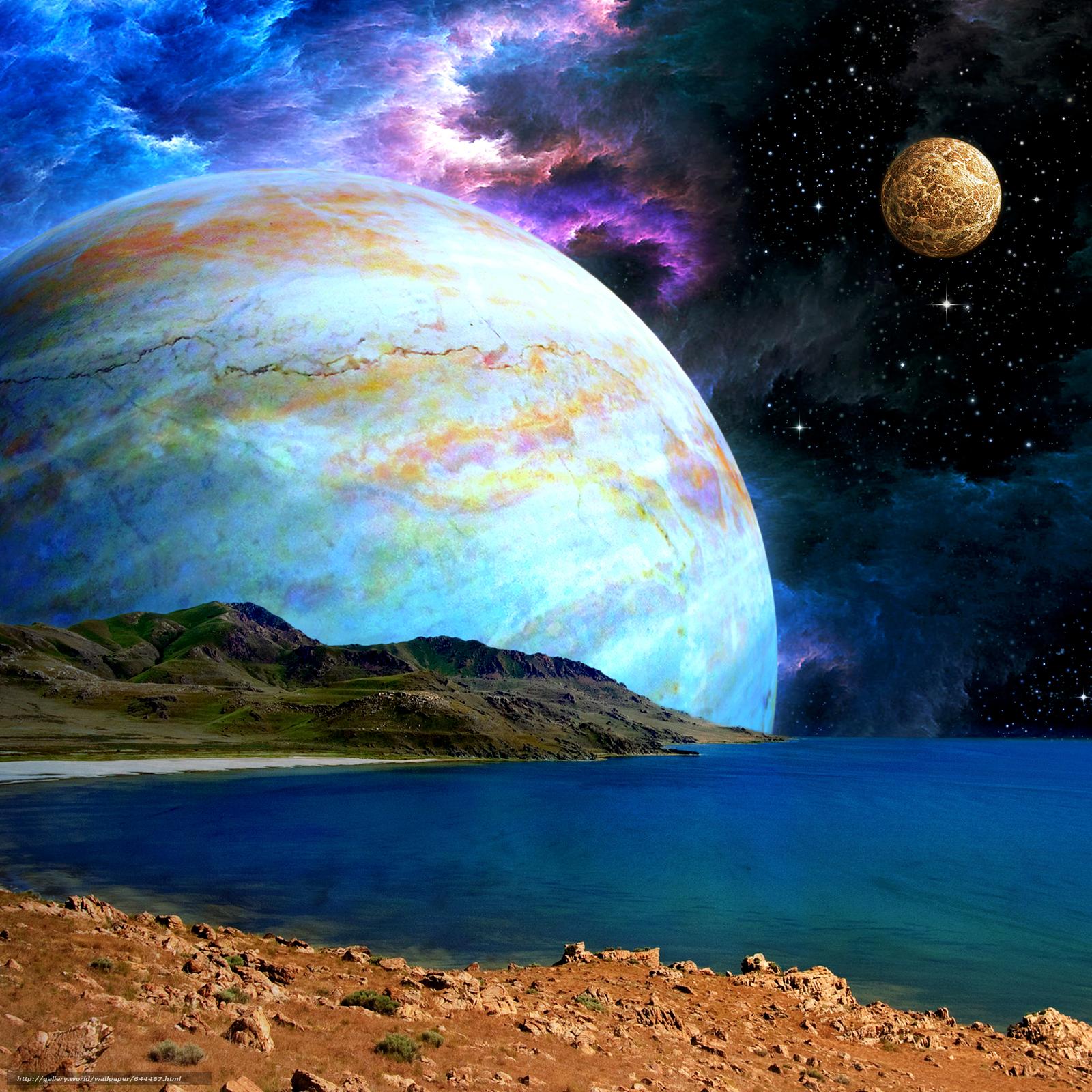 three planets aligned - HD1600×1600
