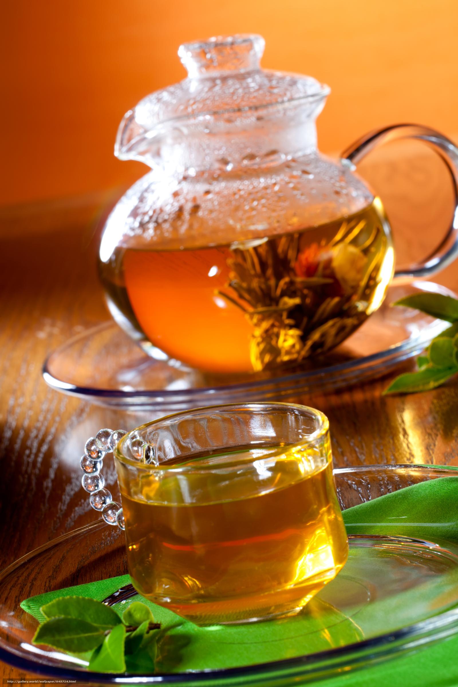 Чай чайник фото