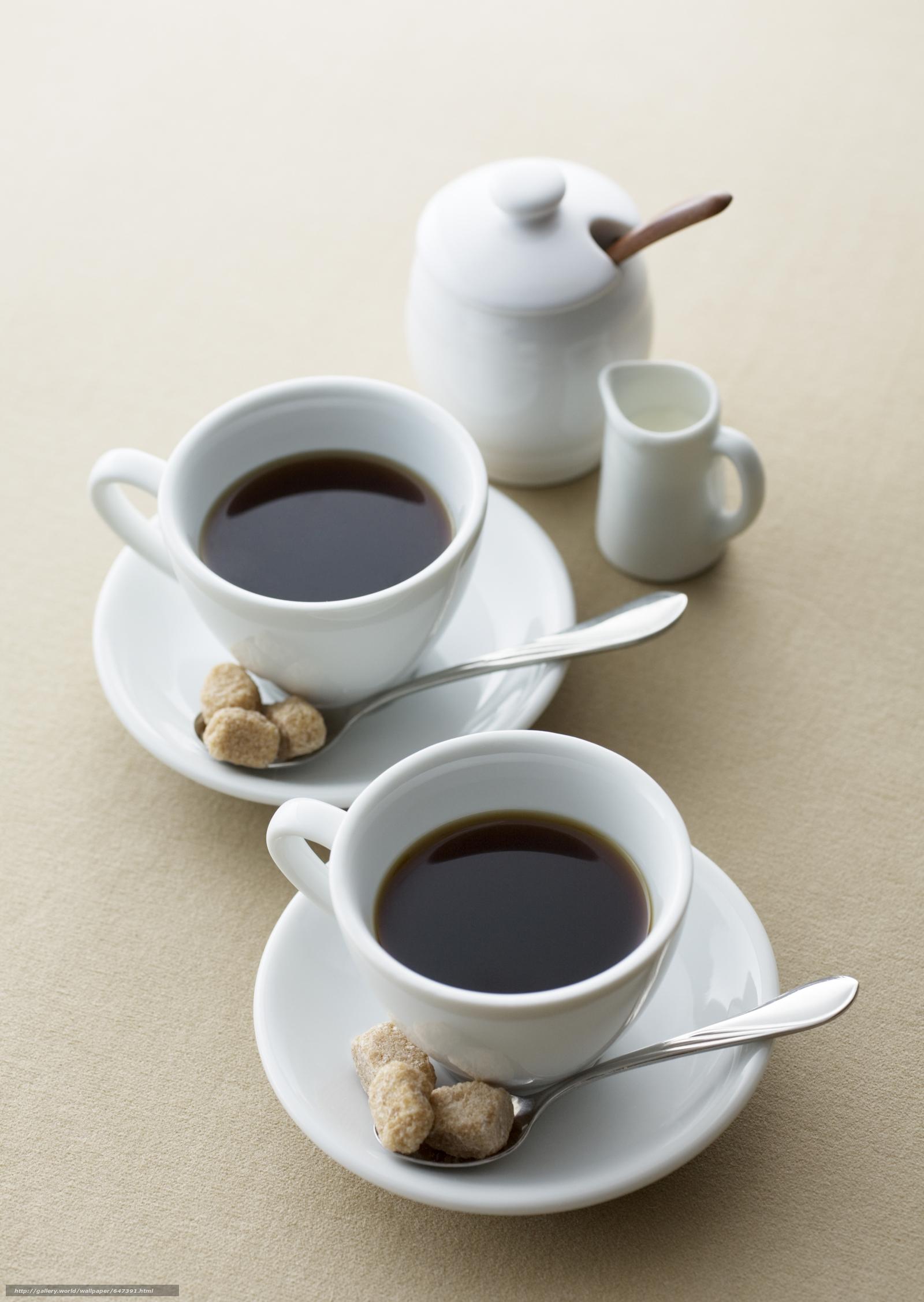 фото две чашки кофе красивые один новогодний праздник