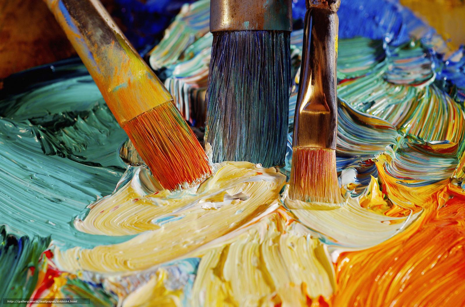 картинки масляные краски и холст вспомнить его