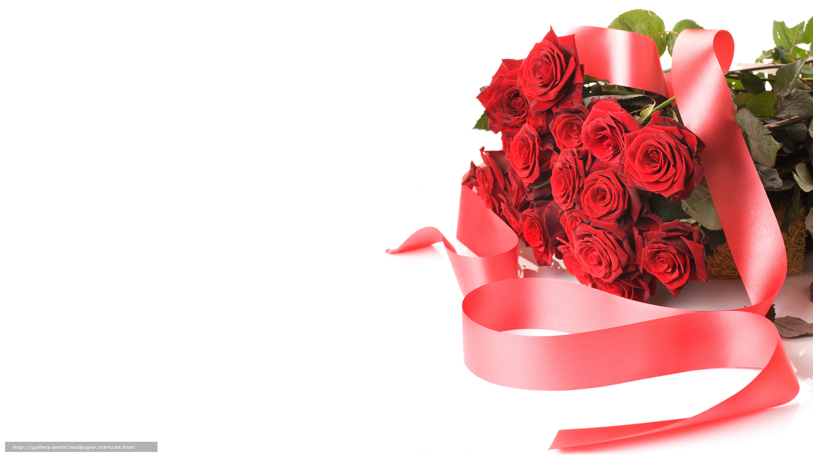 Открытки с розами на день рождения на белом фоне
