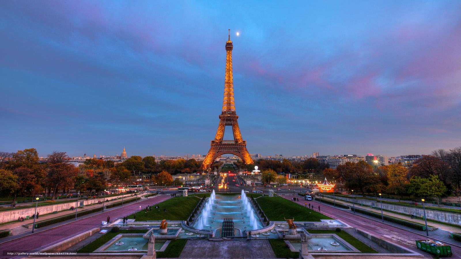 Обои На Стол Париж