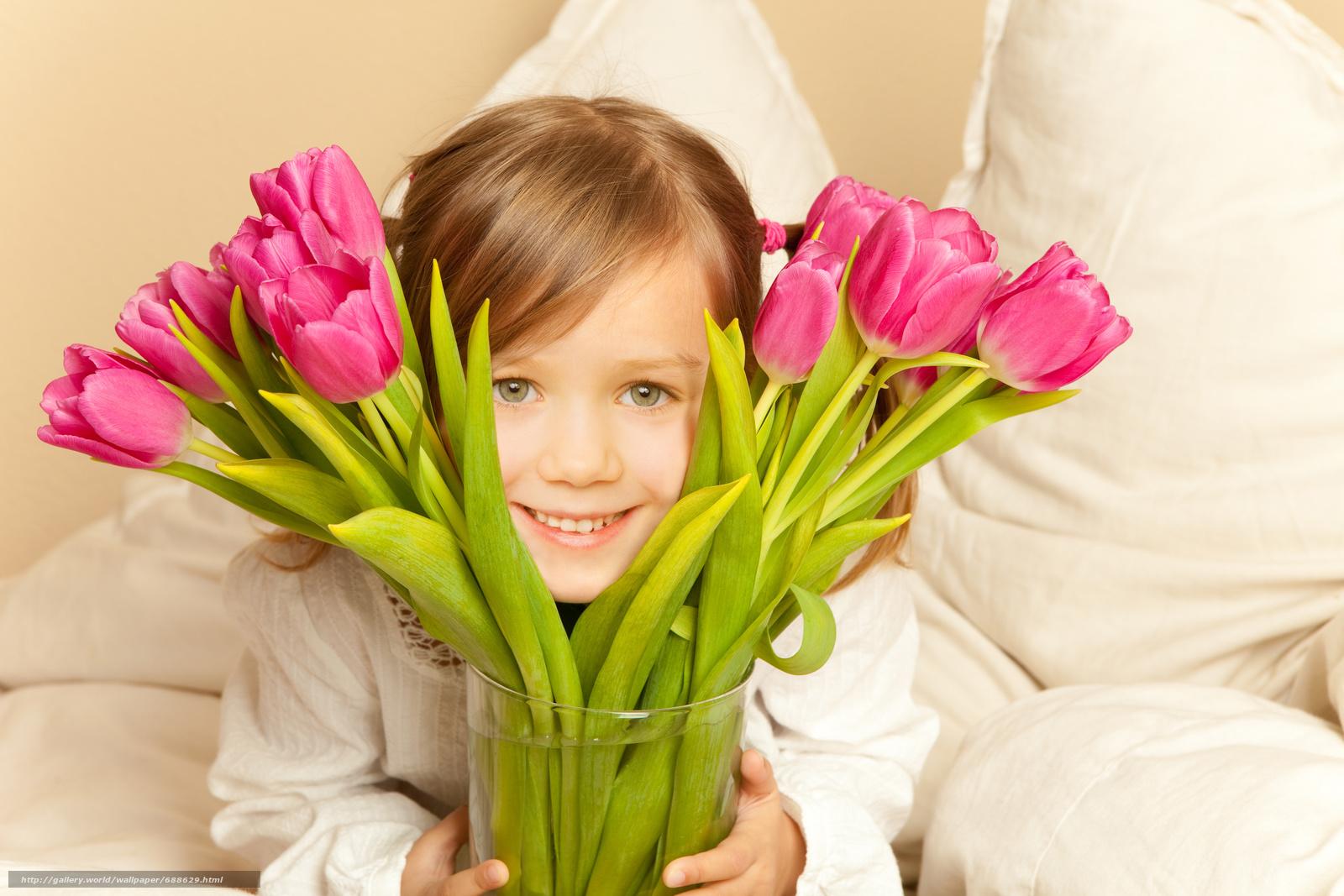 Картинка цветы мама