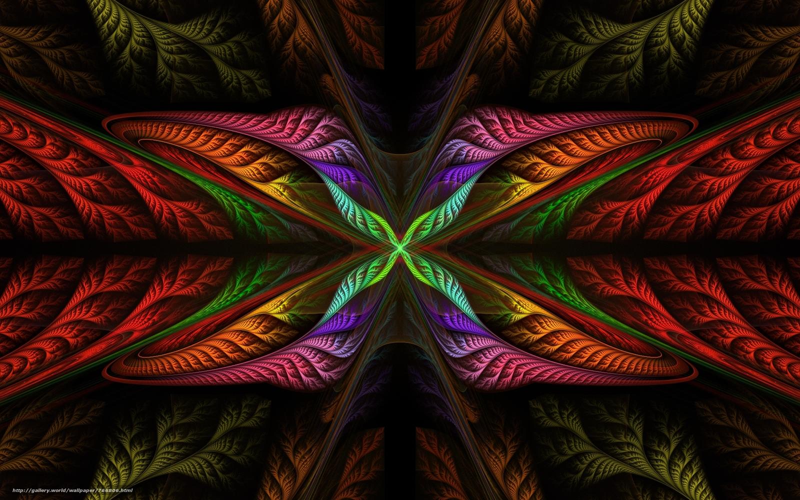 абстракция, цветной фон, разноцветный фон, текстура, фрактал, Изобразительное искусство